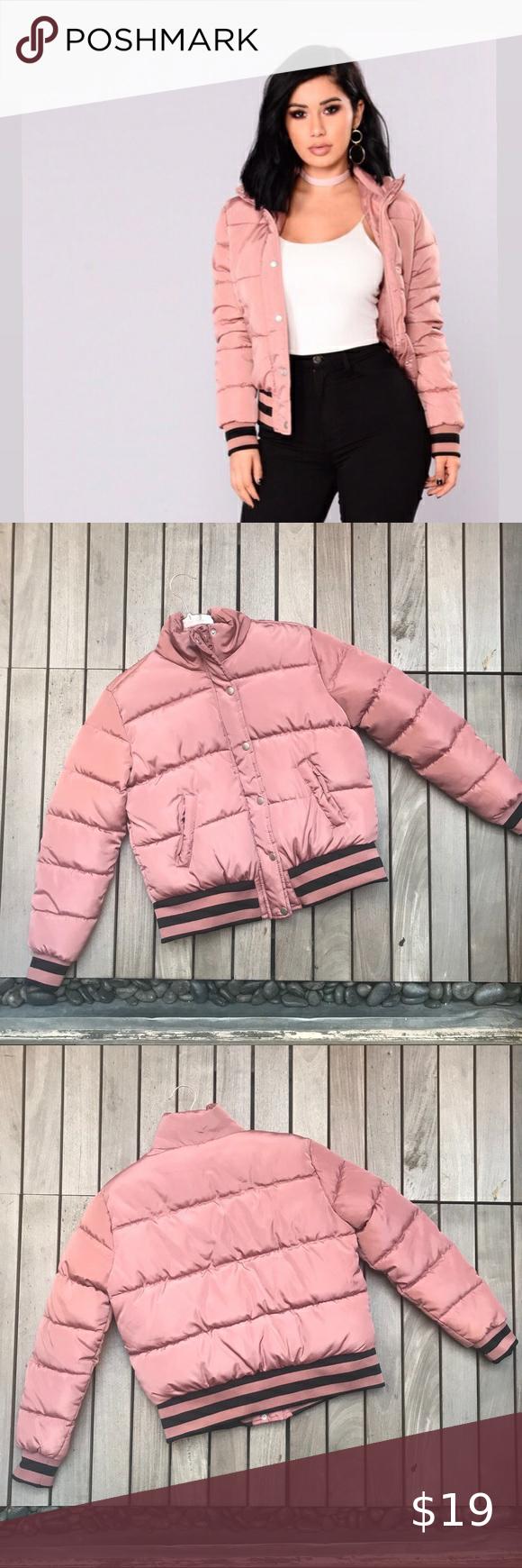 Fashion Nova Mrs Jackson Puffer Jacket Light Pink Fashion Fashion Nova Pink Fashion [ 1740 x 580 Pixel ]