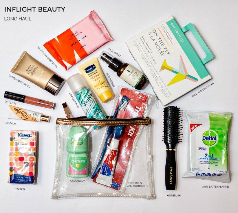 What inflight and travel beauty essentials do you need for your next trip #beautyessentials