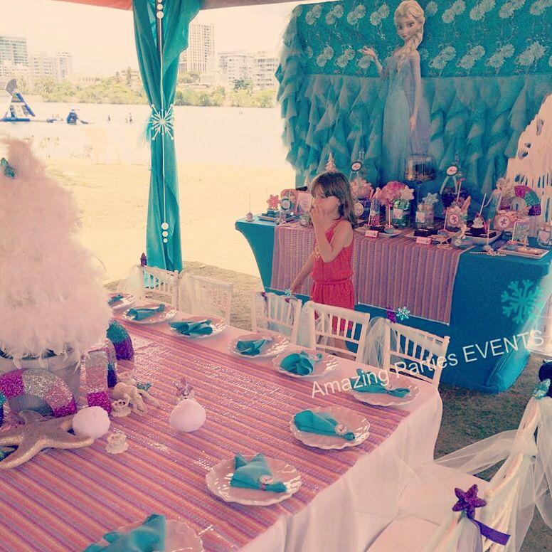 Amazing Parties & EVENTS 787.435.9860 Frozen Summerland