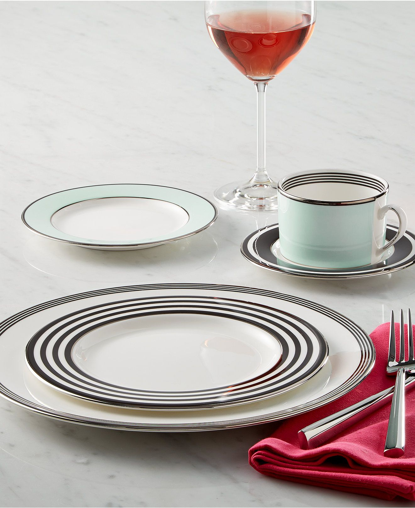 kate spade new york Parker Place Collection | China and Interiors