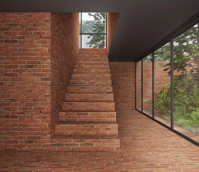 Resultado de imagen para escalera ingreso ladrillo - Escaleras de ladrillo ...