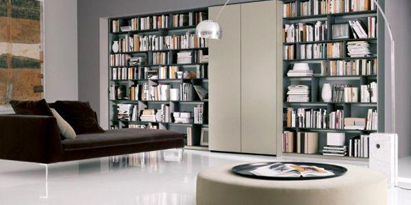 Faire une décoration de bibliothèque pour la maison neue decoration | Design bibliothèque de la ...