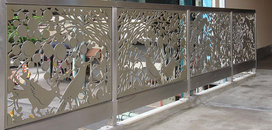 Custom Architectural Metal Wall Panels : Laser panels cut objects pinterest