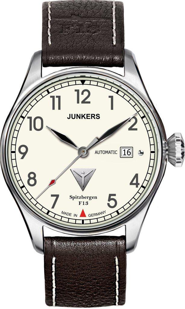 Junkers Watch Spitzbergen F13 #2015-2016-sale #bezel-fixed #black ...