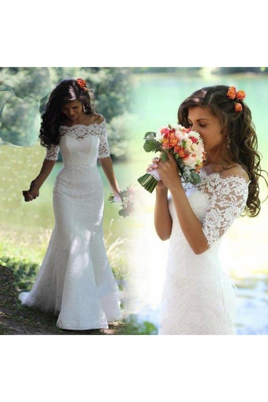 10++ Short sleeve lace mermaid wedding dress ideas in 2021