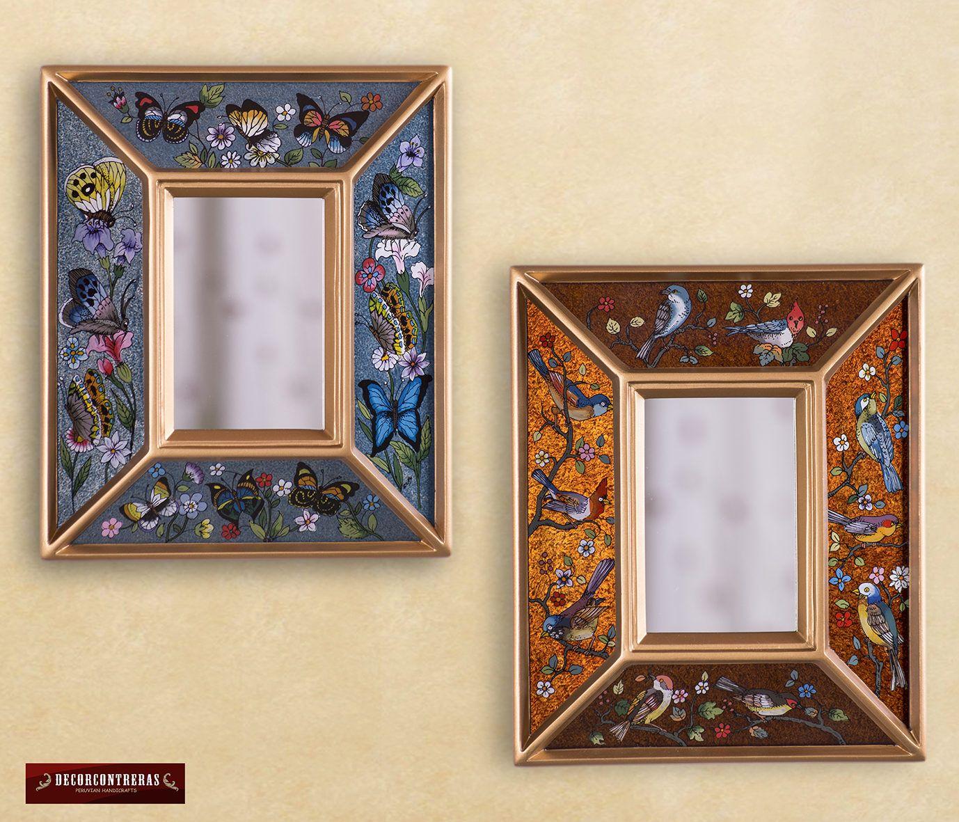 Espejo Decorativo Rectangular Convexo, \