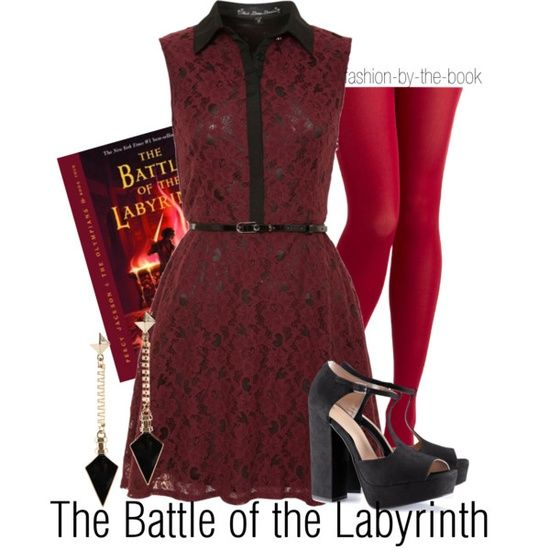 Outfit inspired by The Battle of the Labyrinth by Rick ...