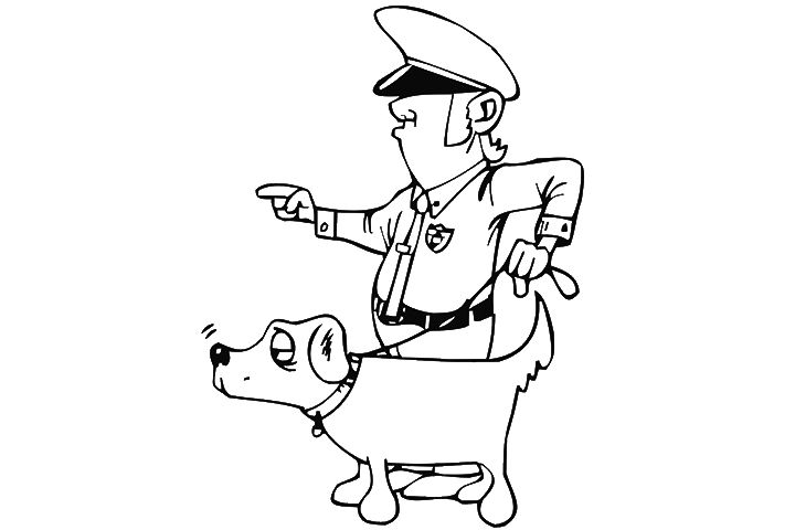 32 Paw Patrol Chase Coloring Page Paw Patrol Coloring Paw
