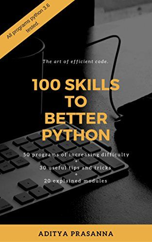100 Skills to Better Python Pdf Download e-Book coding - computer software skills