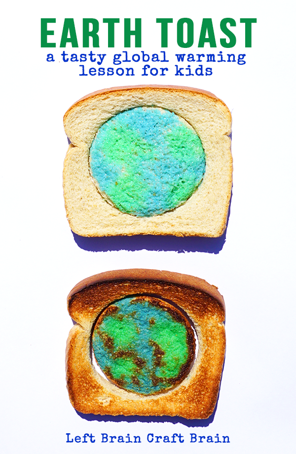 Earth Toast A Tasty Global Warming Lesson For Kids Global Warming