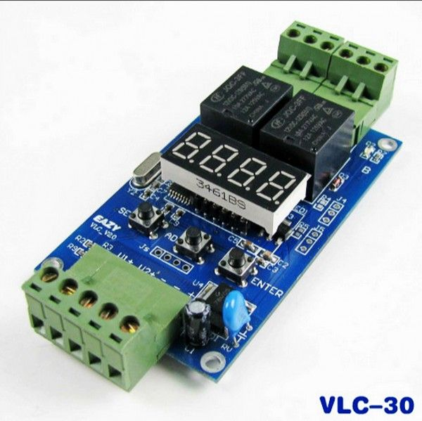 Vlc 30 Controller Dual Programmable 12v Relay Module Off Cycle Timer Relay Timer Dual
