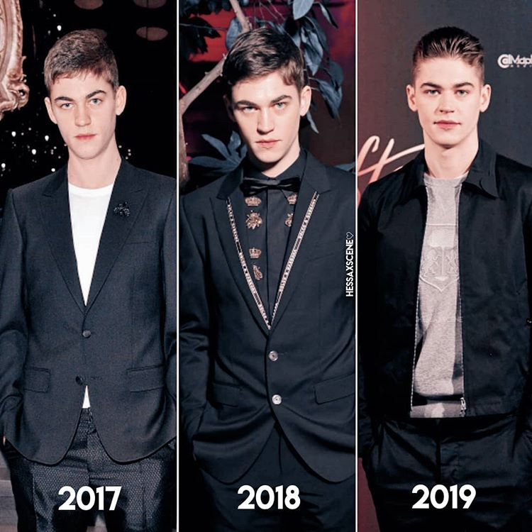 he's so hot in 2018 bye 🤤 - which year is your favorite?