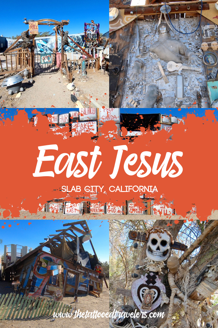 A Visit To East Jesus In California S Free Land Slab City Usa Beaches Beach Road Trip Travel Quotes Wanderlust Adventure