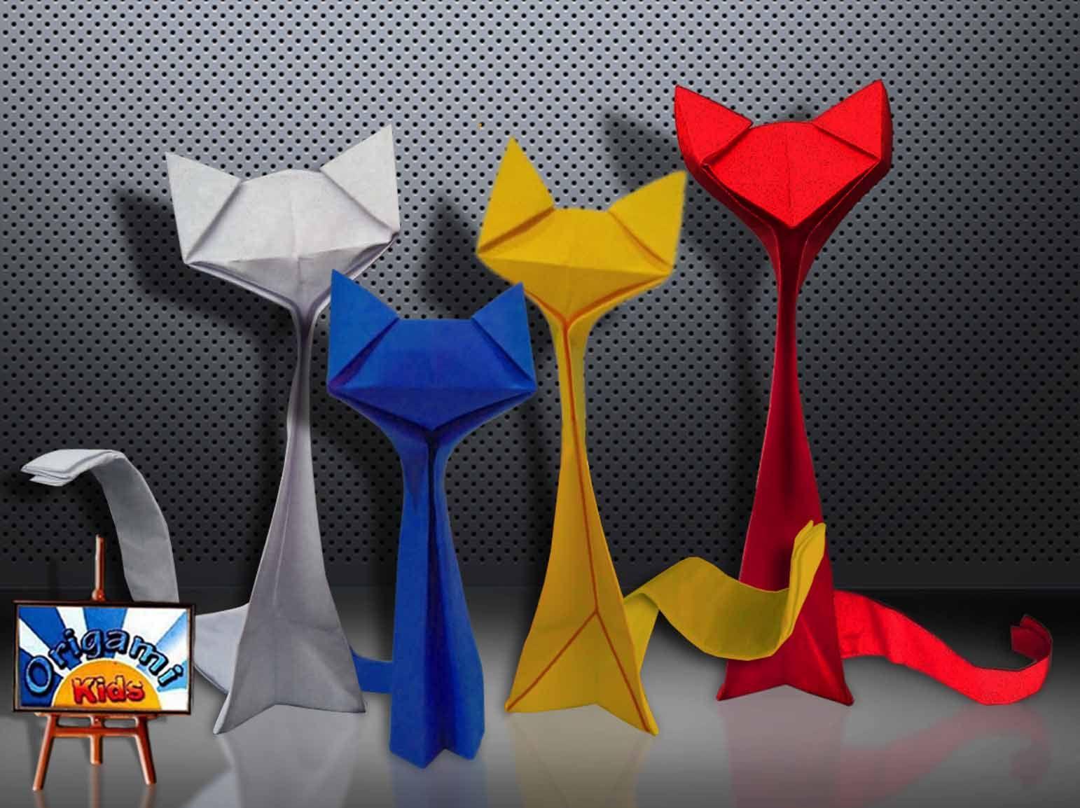 Origami Cat by Richard Wang Folder and Photo Origa MiKids