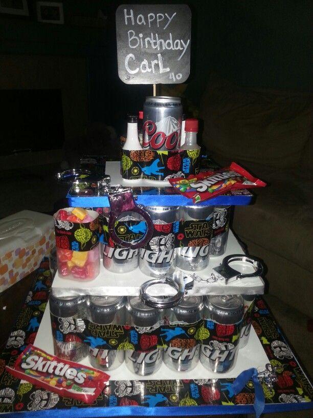 Birthday beer cake do it yourself pinterest birthday beer and birthday beer cake solutioingenieria Gallery
