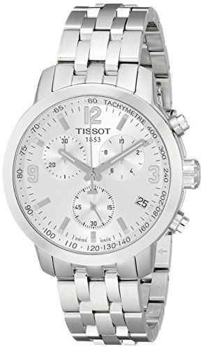 bf6d189bb7e Tissot Mens T0554171103700 PRC200 Analog Display Quartz Silver Watch -- See  this great product.