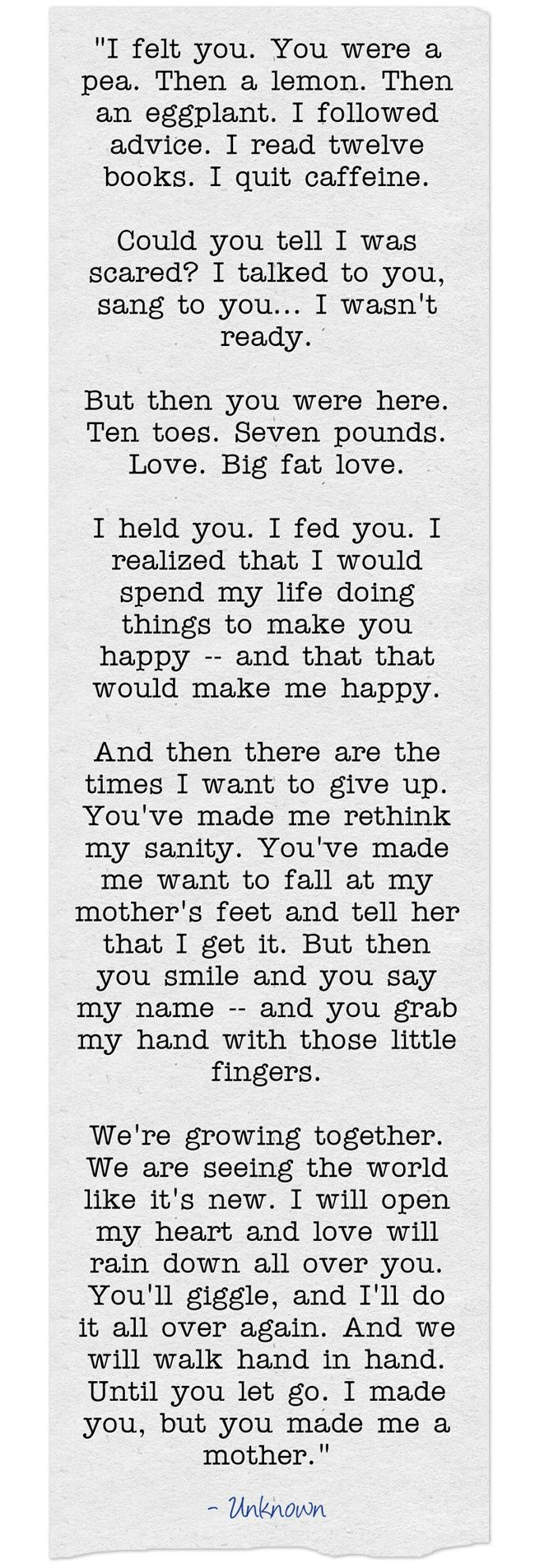 I Made You But You Made Me A Mother Moms Mom Mothers Mothers Day Happy Mothers Day Happy Mothers Day My Baby Quotes Mom Quotes Birthday Quotes For Daughter