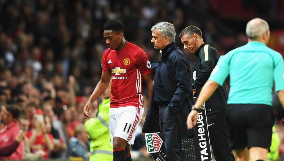 Martial has to fight for his Manchester United future  Mourinho