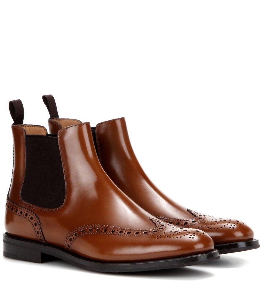 Style Church's Boots Chelsea Ketsby Le En Appréciez Cuir 0OR0qnwZ