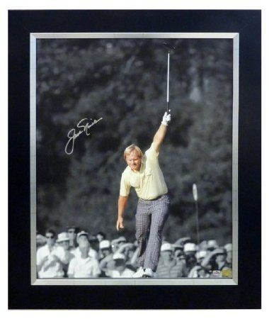 Jack Nicklaus Spotlight on Augusta - Autographed Series : Photographs #jacknicklaus #golf #nicklaus #goldenbear
