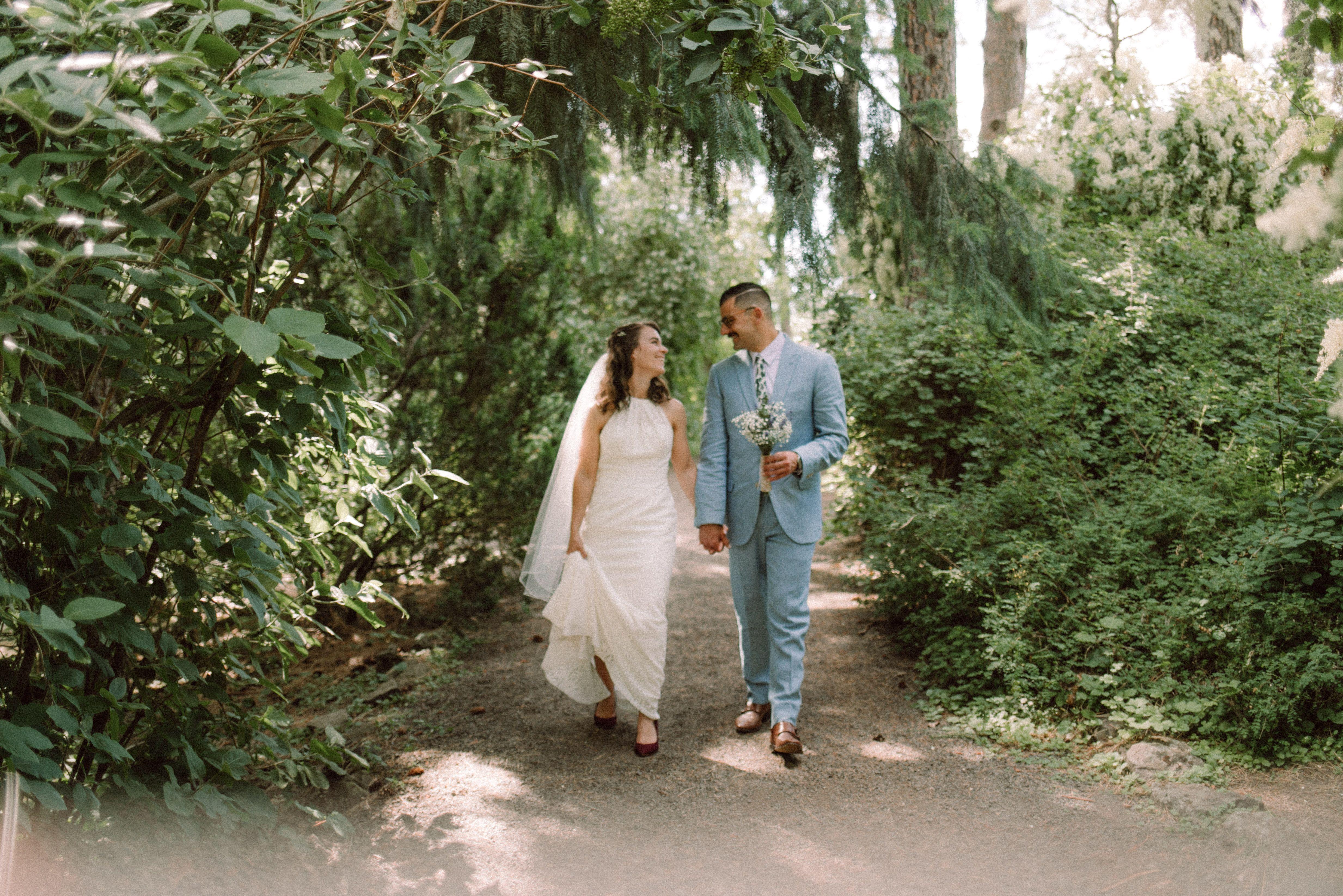 Manito Park Wedding Spokane Wa Photography And Videography Photojournalistic Park Weddings