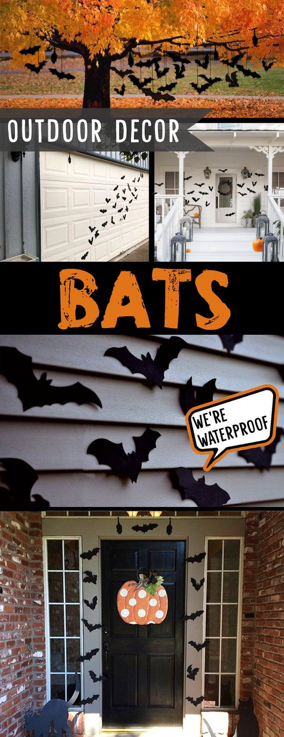 Waterproof Indoor Or Outdoor Halloween Bats Halloween Bat