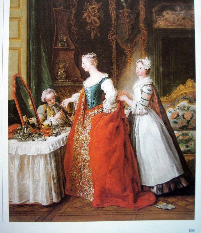 """""""Dame à sa toilette recevant un cavalier"""" de Jean-François de Troy"""
