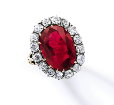 http://rubies.work/0778-emerald-earrings/ Sotheby's will offer the Queen Maria-José ruby ring, 8.48ct, at its Nov. 11 Magnificent Jewels and Noble Jewels auction in Geneva.