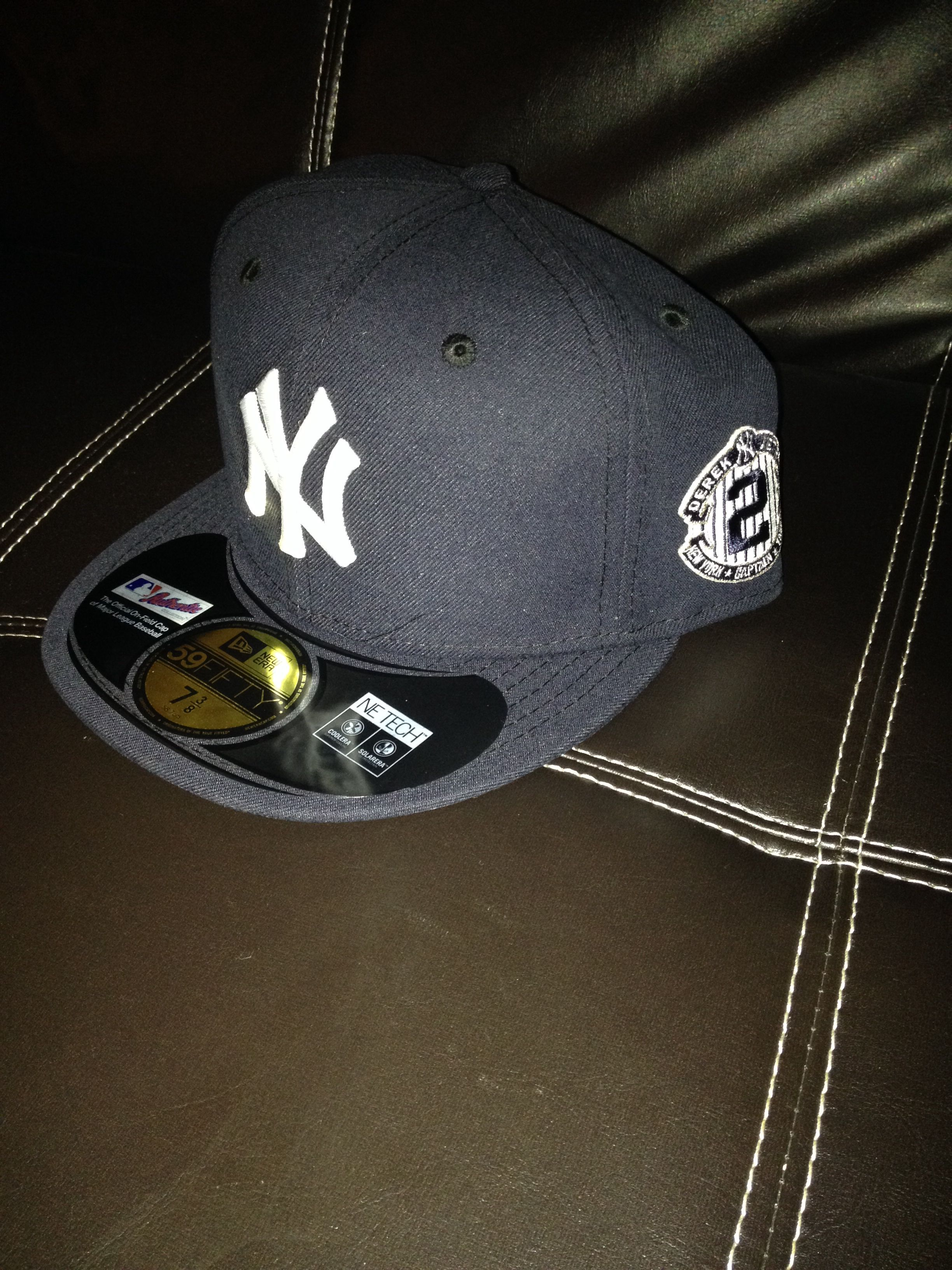 New York Yankees Fitted New Era Cap With Derek Jeter Farewell Emblem Yankee Fitted Nyc Fashion New Era Cap
