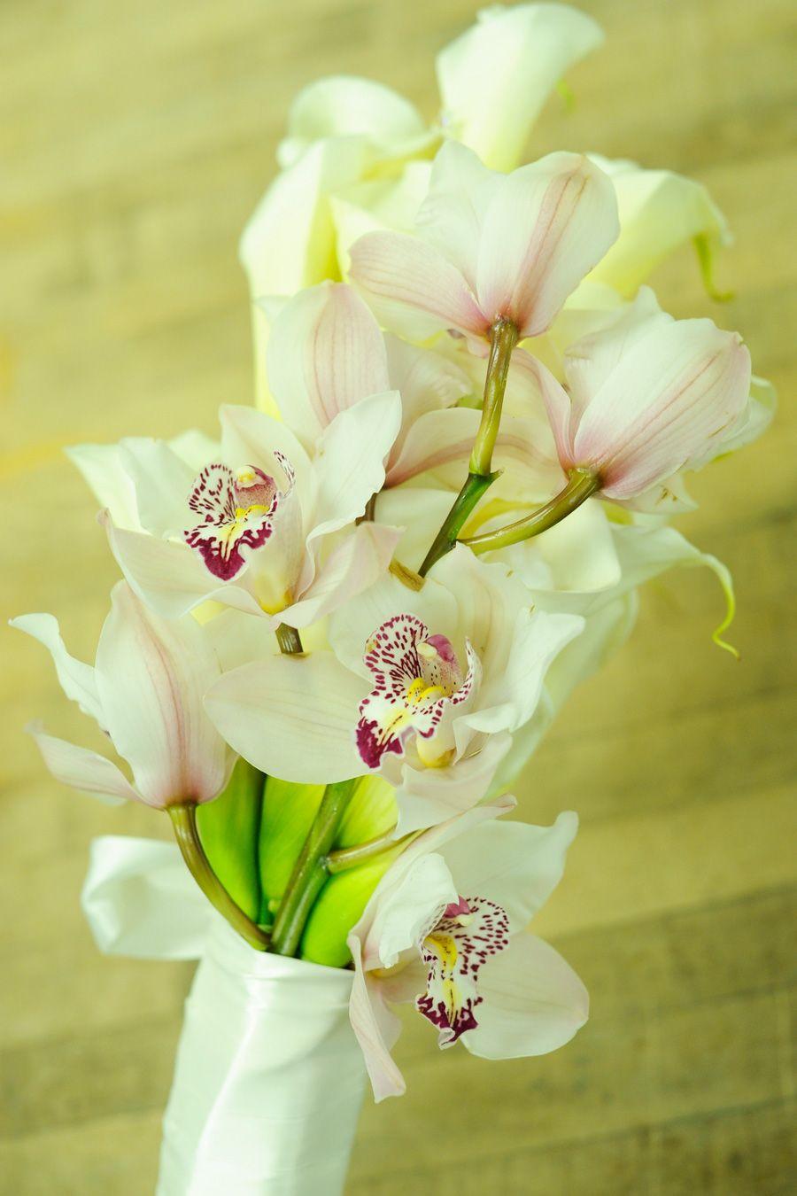 Korri Mcfann Pinterest Orchid Bridal Bouquets Ribbon Wrap And