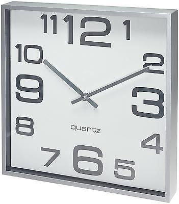 Large Wall Clock 11 Inch Elegant Modern Square Home Decor Room Decoration Office Large Wall Clock Home Clock Wall Clock
