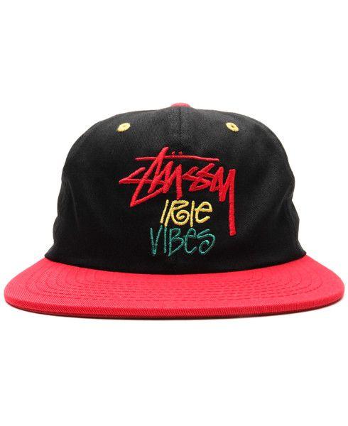 STUSSY - IRIE VIBES SNAPBACK CAP (BLACK)  5b92e5ee6cdf