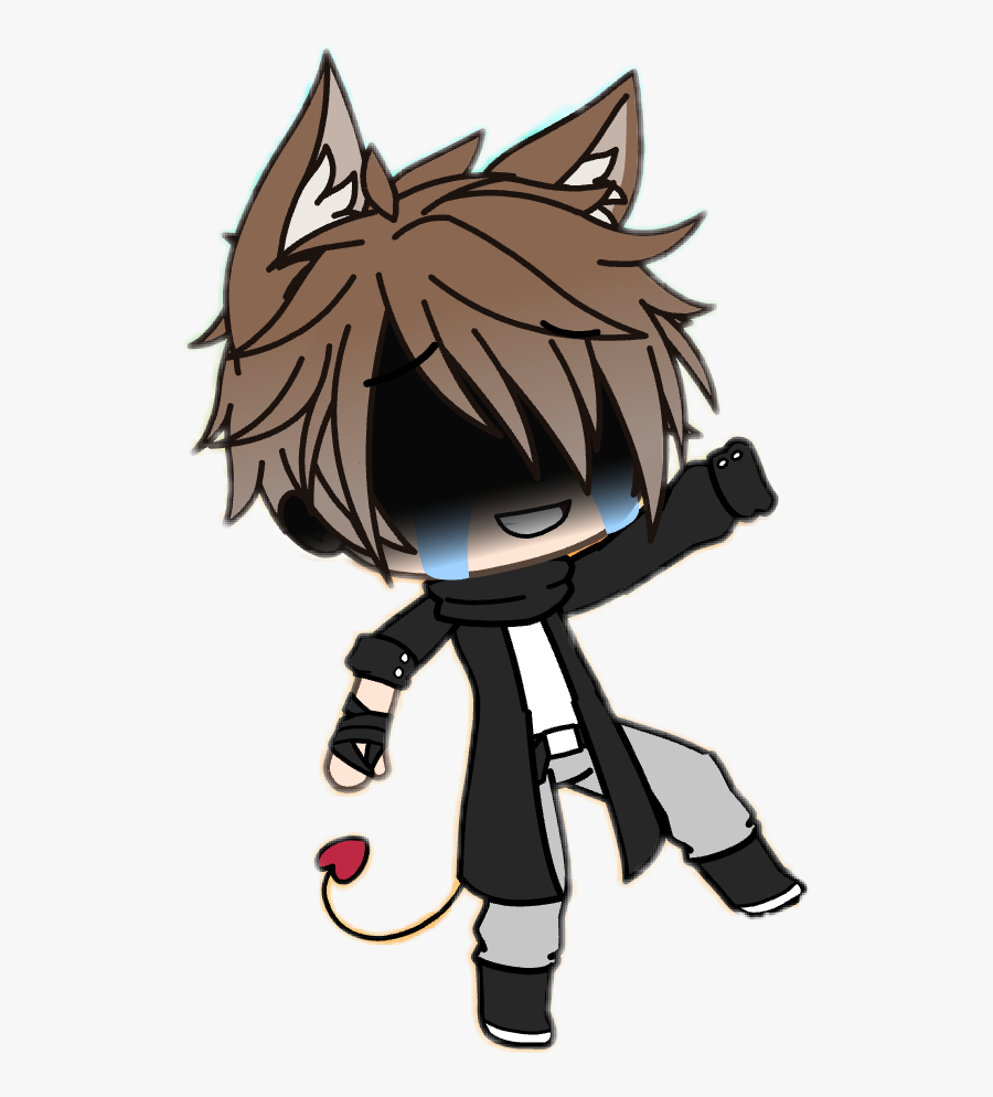 Gacha Boy Cry Fakesmile Fall Falling Boy Gacha Is A Free Transparent Background Clipart Image Cute Cartoon Drawings Anime Wolf Girl Cute Anime Character