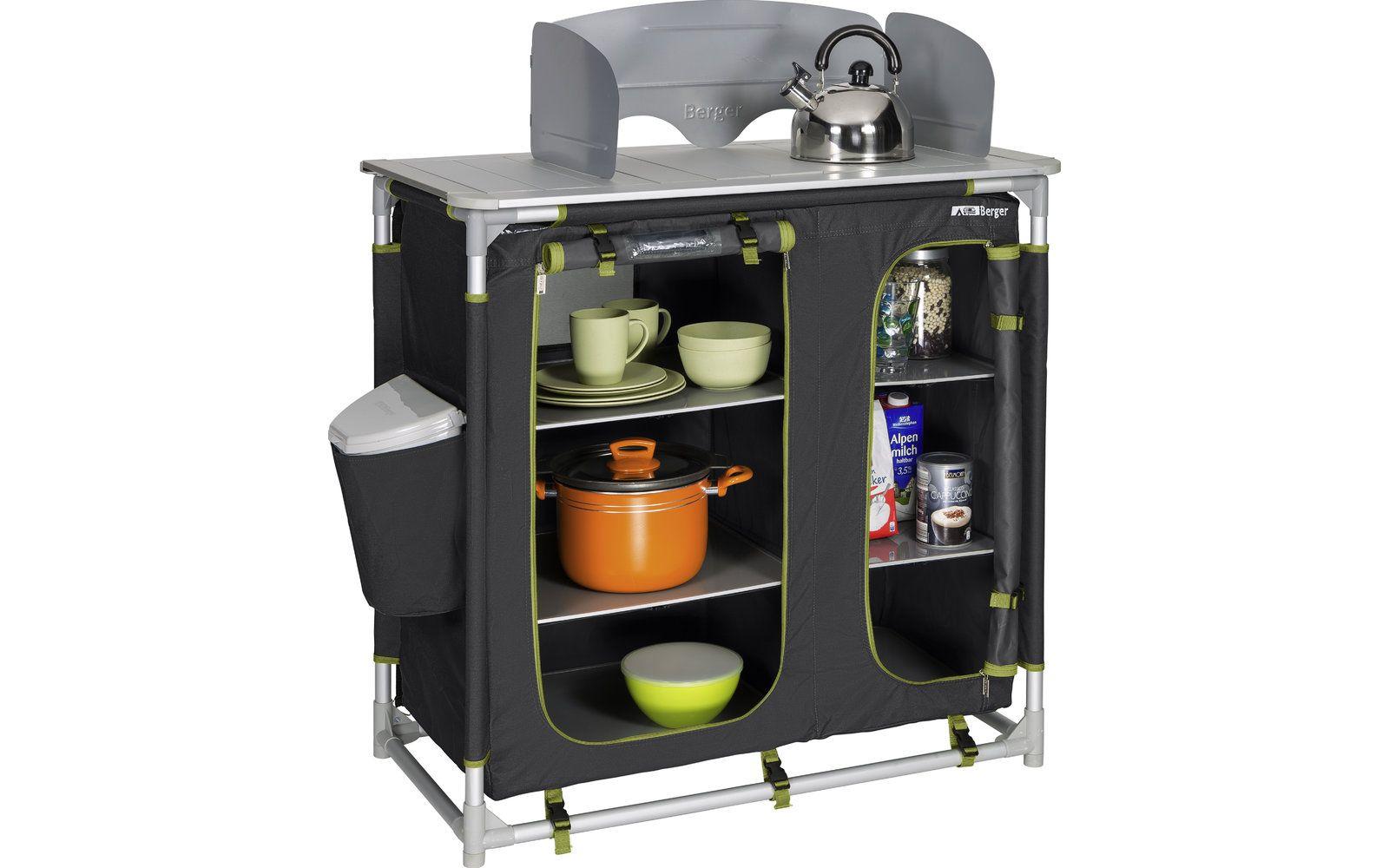 Berger Küchenbox Premium II Campingschrank