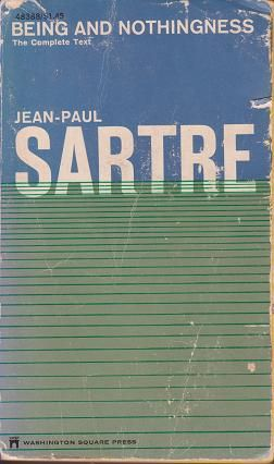 an essay on phenomenological ontology sartre Buy being and nothingness: an essay on phenomenological ontology 1 by jean-paul sartre (isbn: 9780415040297) from amazon's book store everyday low prices and free.