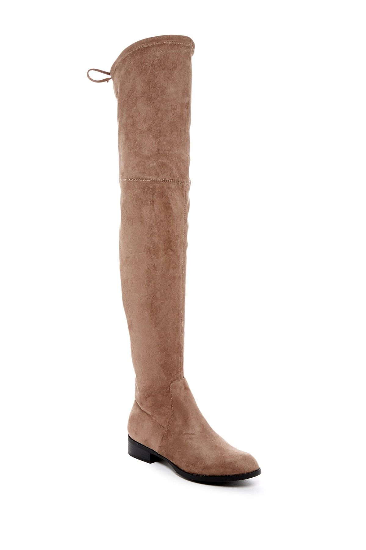 ae71de8ec22 Morcha Faux Fur Lined Over-the-Knee Boot