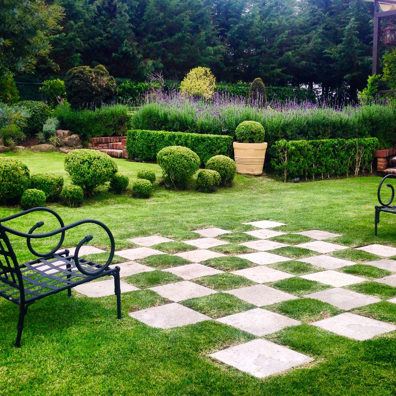 Outdoor Game Board Backyard Activities Backyard Landscaping Garden Design
