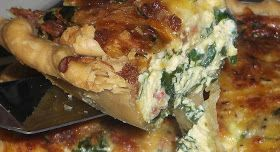 Backup: Fabulous Spinach and Bacon Quiche