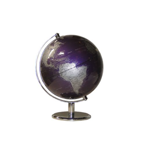 Globo Design Purple Cromado