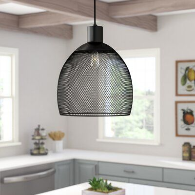 Laurel Foundry Modern Farmhouse Bouvet 1-Light Single Dome Pendant | Wayfair.ca