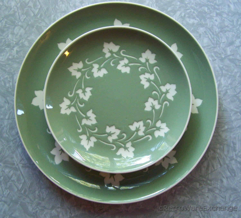 Vintage Harkerware Dinnerware \u2013 Ovenproof Dishwasher Proof made in USA \u2013 from Green Ivy Wreath & Vintage Harkerware Dinnerware \u2013 Ovenproof Dishwasher Proof made in ...