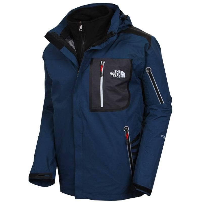The-North-Face-Flux-Power-Stretch-Jacken-Dark-Blau-Herren