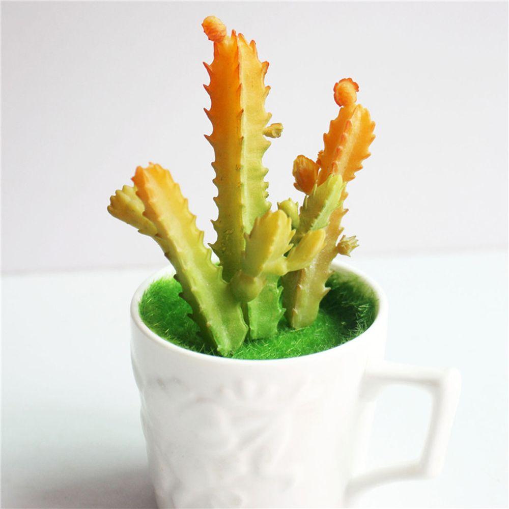 3 pcs/set Simulation Succulents Saguaro Series Artificial Flower DIY ...