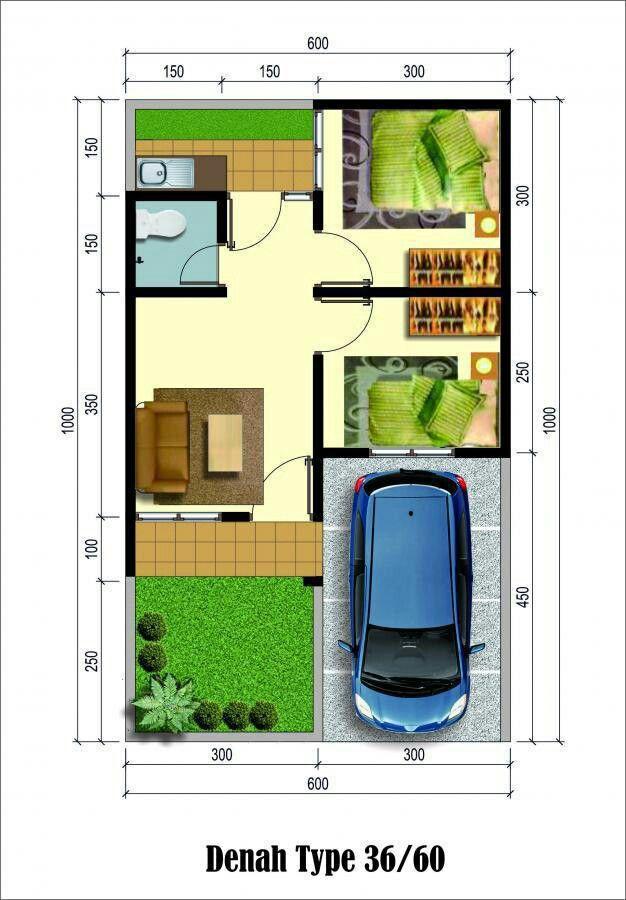 Rumah Type 36/60 - Rumah Type 36 60 Harga Rp 160 Juta Di ...