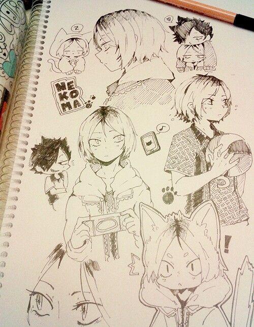 Haikyuu Image Anime Drawings Sketches Anime Art Anime Drawings