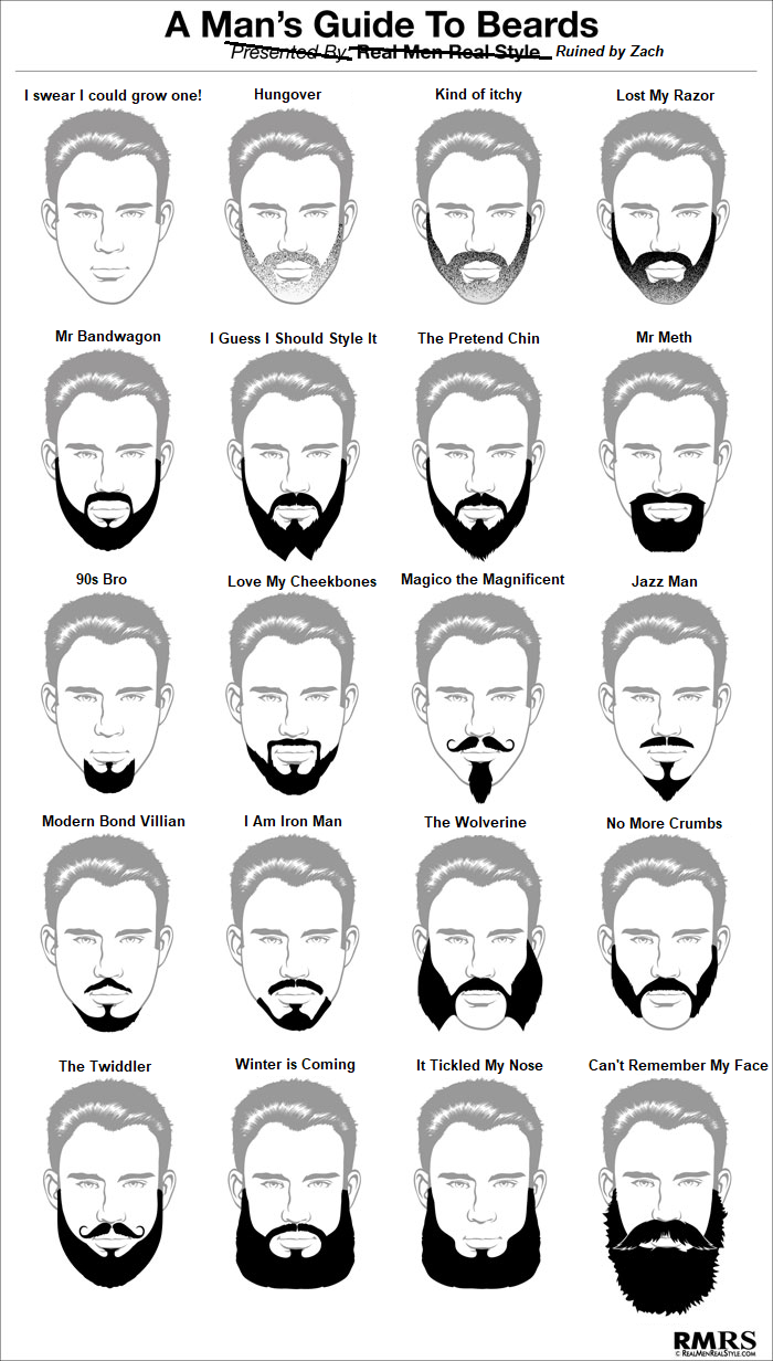 An honest guide to beard names iftxqwnsn funny pinterest