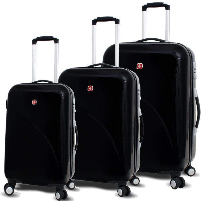 I love this swiss army swissgear hard sided luggage set! Looks ...