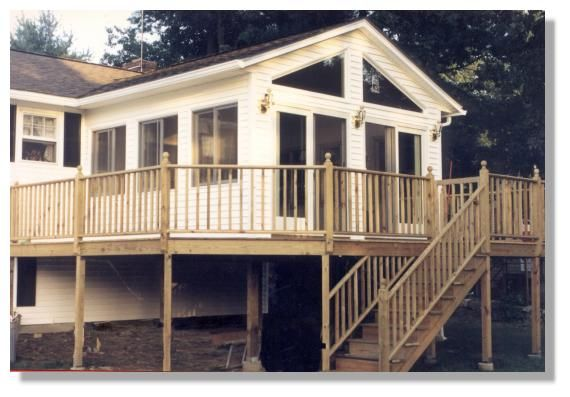 Three season porches farmers porch before farmers porch for Second floor sunroom