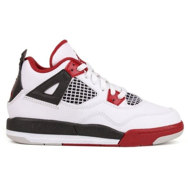 Nike Air Jordan 4 Retro Little Kids (PS) Boys Basketball Shoes.