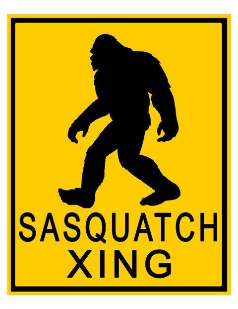 Bigfoot Sasquatch Silhouette Clipart - Free Clip Art Images ...